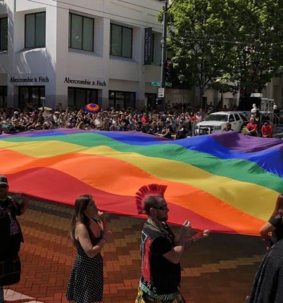 Gay parade. Seattle. Imagen: Kirosan