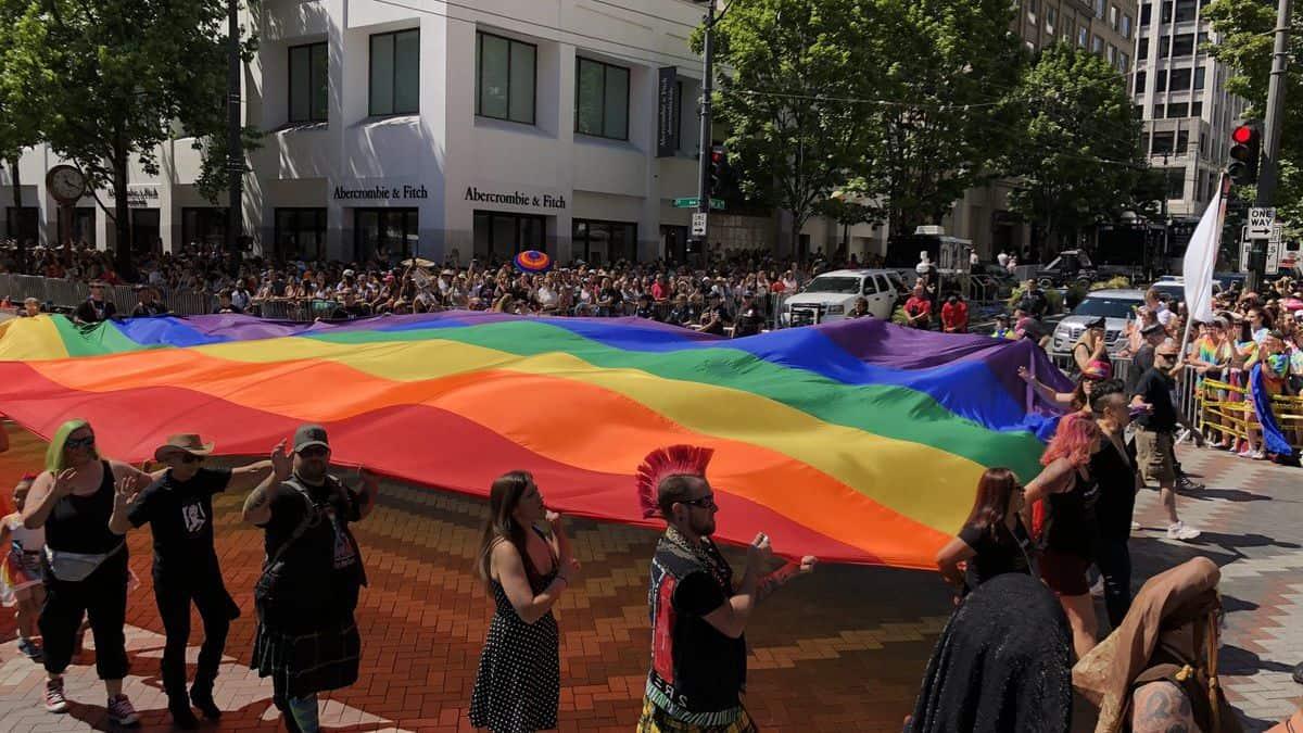 Gay parade. Seattle. Imagen. Kirosan 1