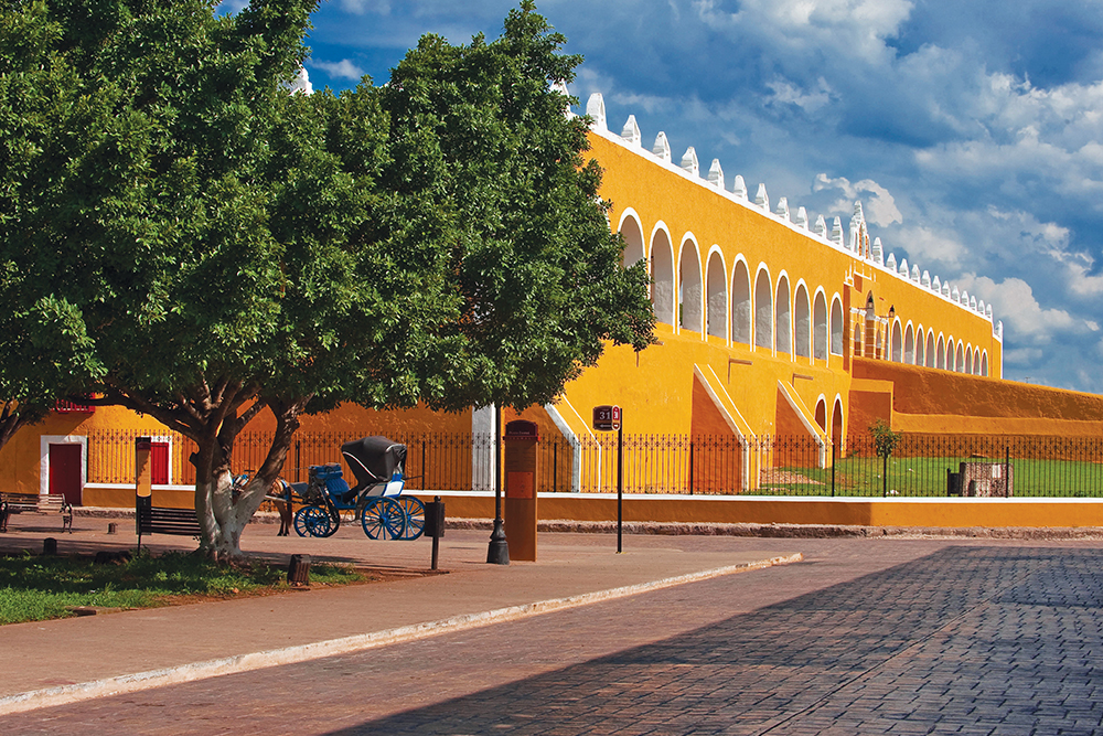Gobierno del Estado de Yucatan Foto: Pueblo Mágico Izamal en Yucatán