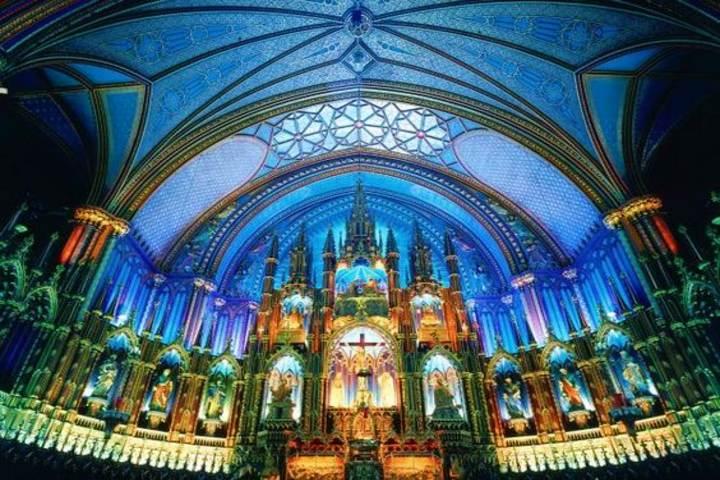 Iglesia Notre Dame en Montreal Foto Homedit.