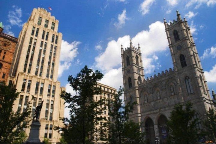 Iglesia Notre Dame en Montreal Foto.