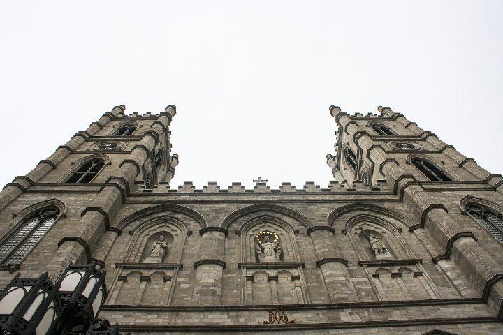 Iglesia Notre Dame en Montreal. Foto Kelsey Vere.