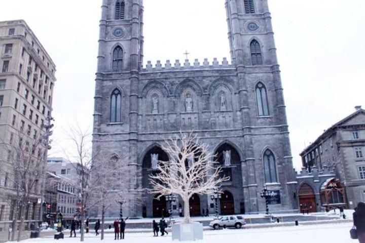 Iglesia Notre Dame en Montreal. Foto That Girl Arlene.