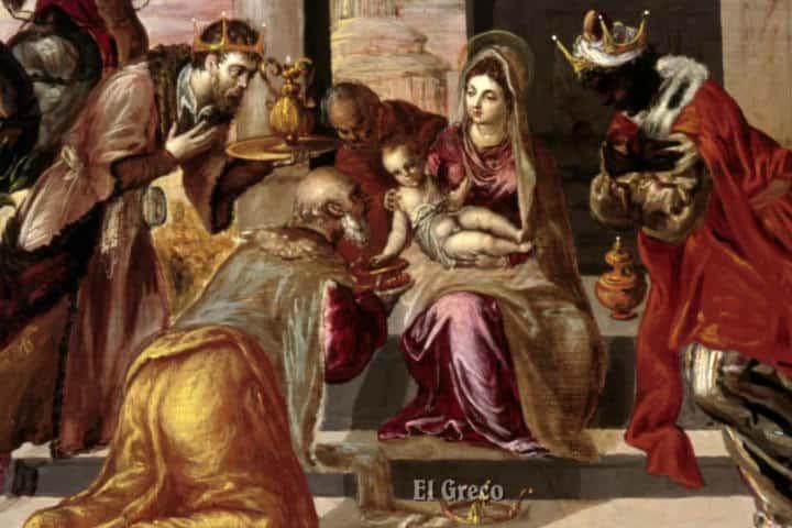 La Adoración Foto El Greco