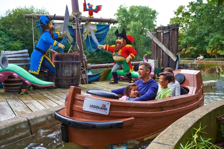 Legoland Billund Resort Piratas. Foto: Official LEGOLAND Windsor legoland Resort en California