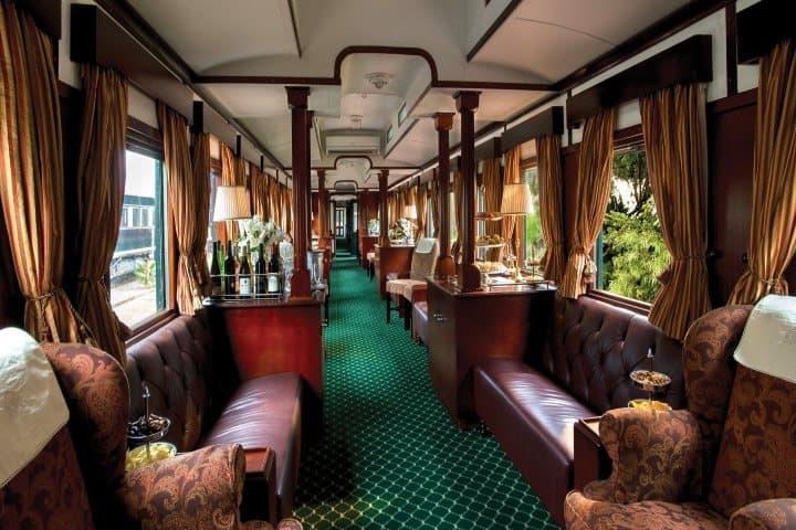 Los trenes más lujosos Foto rhinoafrica com