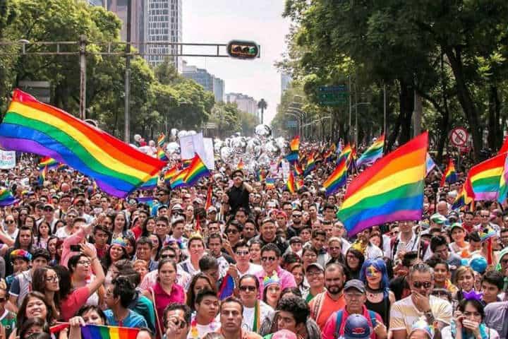 Marcha del Orgullo LGBTTTI.Foto.As México.3