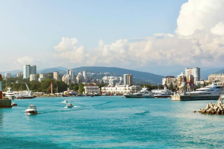 Mar Negro, Juegos olímpicos de invierno en Socho. Foto Mindext.