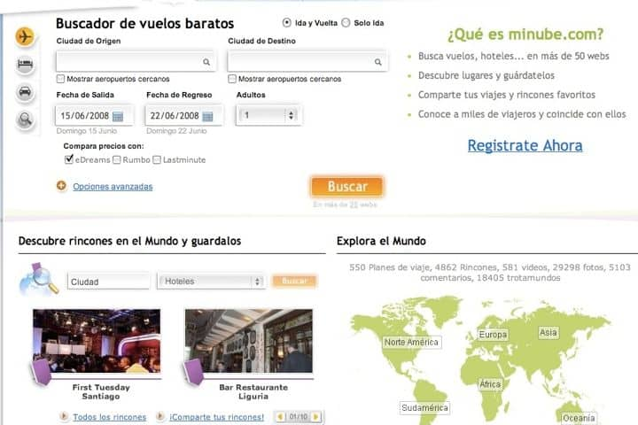 Registrarte en la app es muy sencillo, olvídate de no saber que lugares visitar en tus viajes. Foto por Nando Llorella.