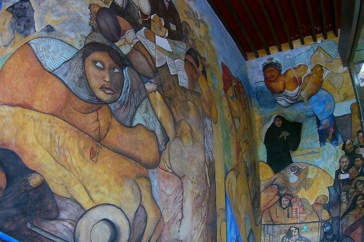 Murales de Xalapa. Foto. Hora Cero