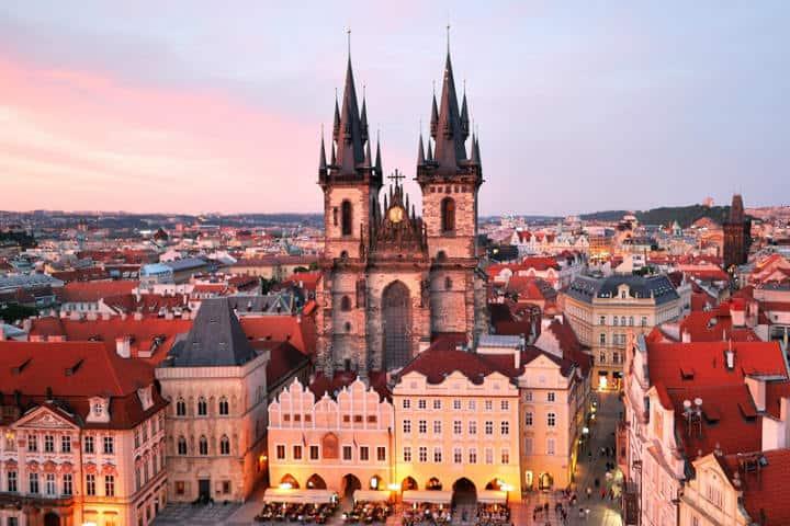 Nuestra señora del Týn.Praga.Foto.El Blog de Play and Tour.3