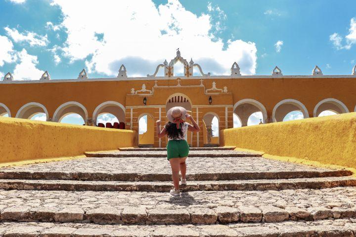 Pies Viajeros Foto: Pueblo Mágico Izamal en Yucatán