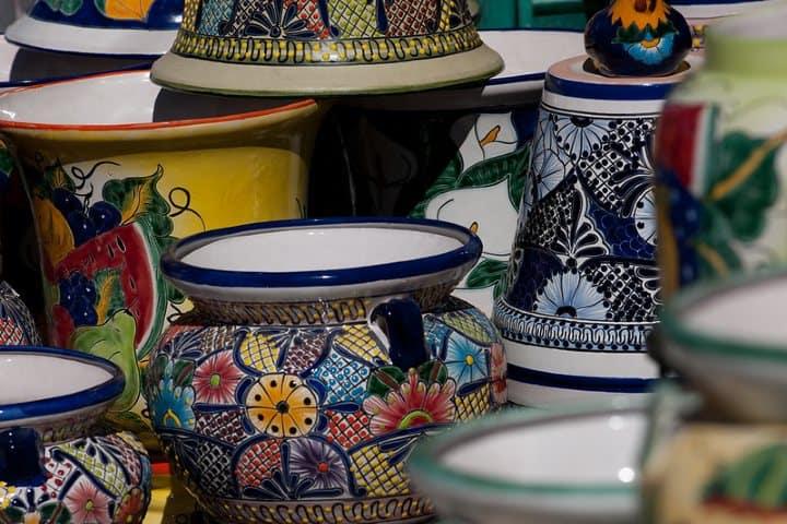 Piezas de ceramica. Fotos Guanaguato