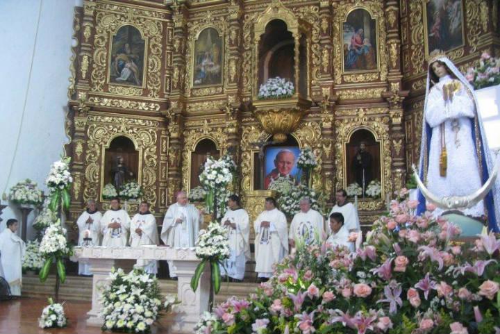 La Inmaculada Concepción. Foto Pinterest.