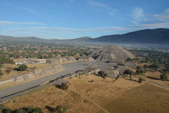 Pirámides de Teotihuacán. Estado de México. Foto: AleocanaMx