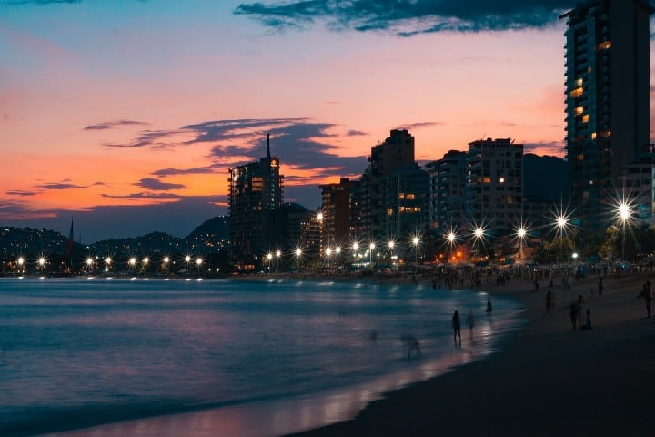 Playa de Acapulco Foto N3otr3x