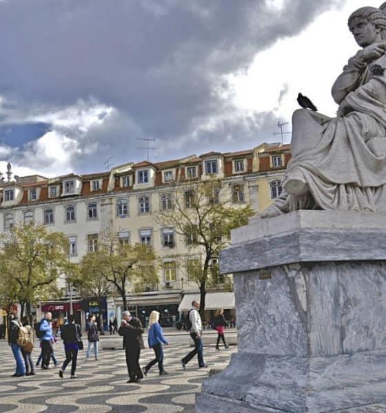 Portada La plaza de Rossio. Portugal. Imagen: The wolf