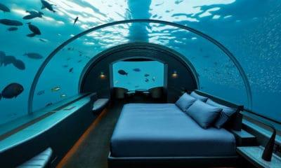 Portada. Habitación del submarino Lovers Deep. Foto: Archivo