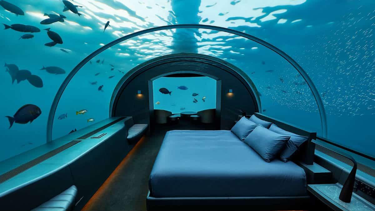 Portada. Habitación del submarino Lovers Deep. Foto Archivo 1