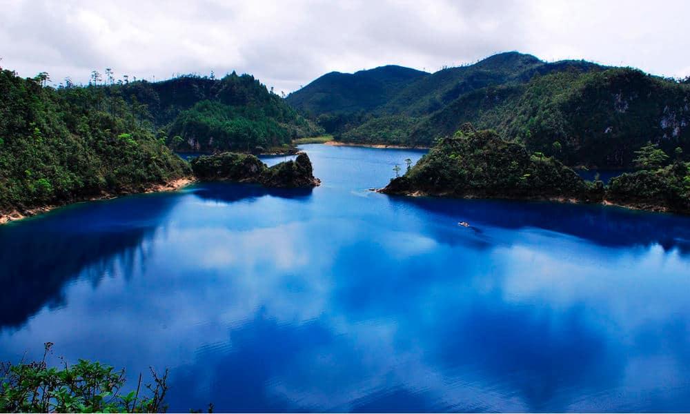 Portada.Podcast de las lagunas de montebello.Foto.Viajes y Hoteles Chiapas Guatemala