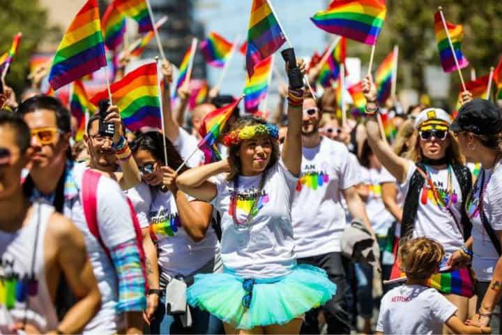 Pride en San Francisco. Foto. BARTable. 9