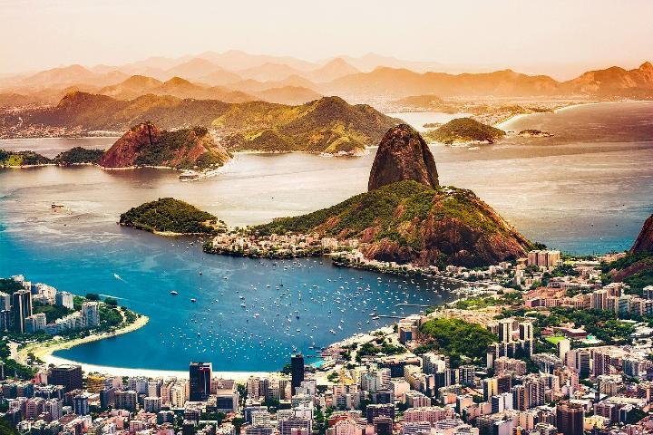 ío de Janeiro, Brasil una de las ciudades mas famosas de este país.