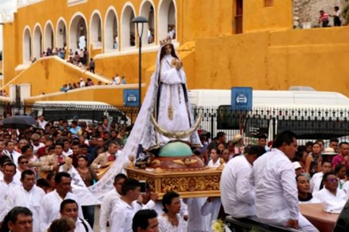 La Inmaculada Concepción. Foto Reporteros Hoy.