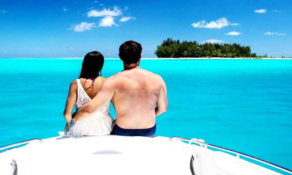 Romantic Cruise Tour of Bora Bora Tahiti