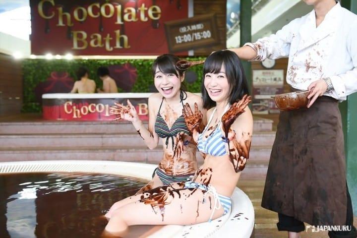 Spa de chocolate. Foto JAPANKURU