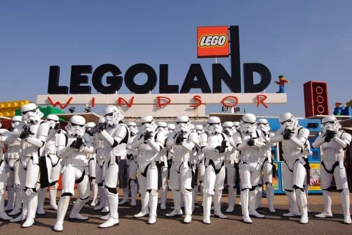 Star Wars Legoland LEGOLAND. Foto: Fantasy.Art.Creation Legoland Resort en California