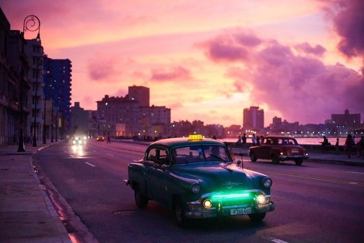 Taxi cubano. Créditos a Flunkey0