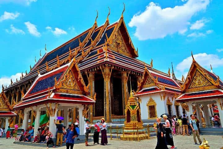 Templo de what Foto terg