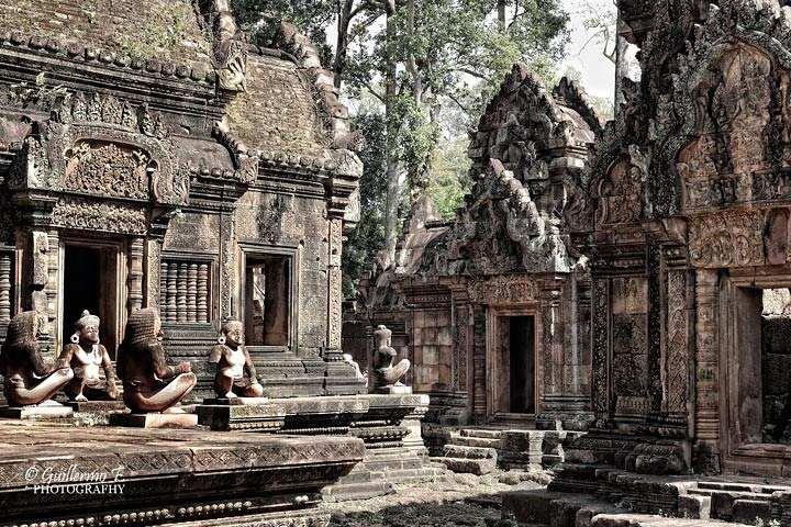 Templos de ankor wat en Camboya