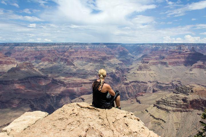 Tendrás las mejores vistas en el Gran Cañón. Foto Bettina Norgaard