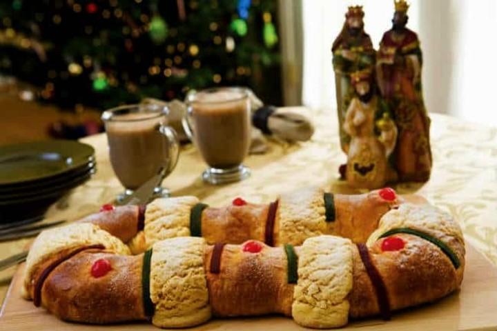 Bizcochos mexicanos, tradicional Rosca de Reyes. Foto Archivo.