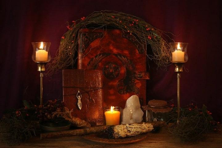 Utencilios para un ritual pagano. foto Desertrose7