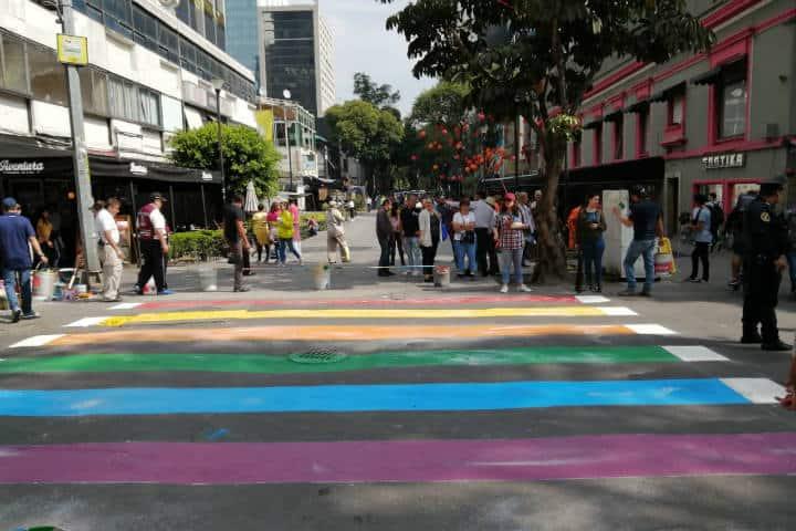 Zona Rosa.Calle Amberes.Foto.Escandala.4