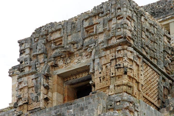 Zona arqueologica de Uxmal. Foto DEZALB
