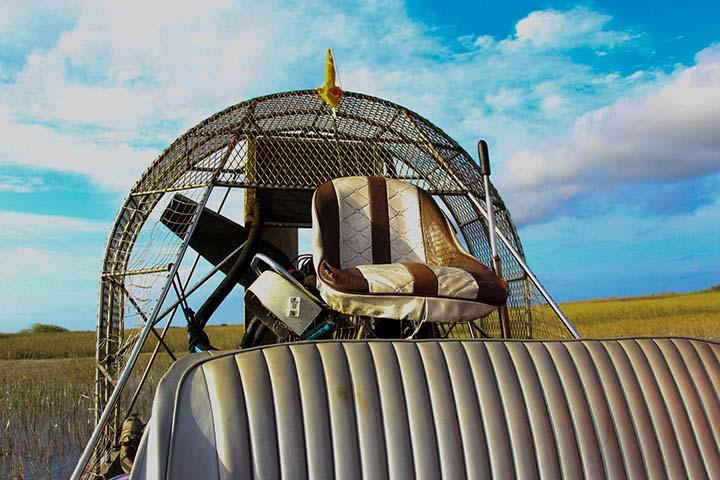 Airboat. Foto Juanwa