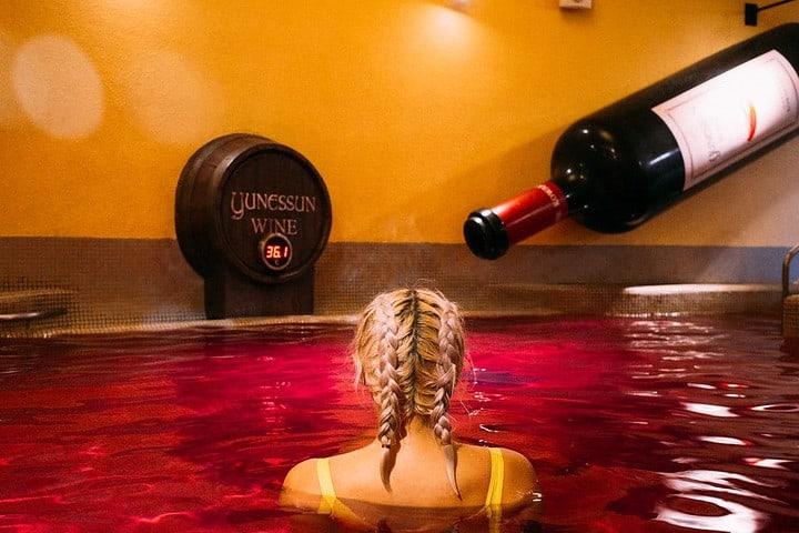 alberca de vino