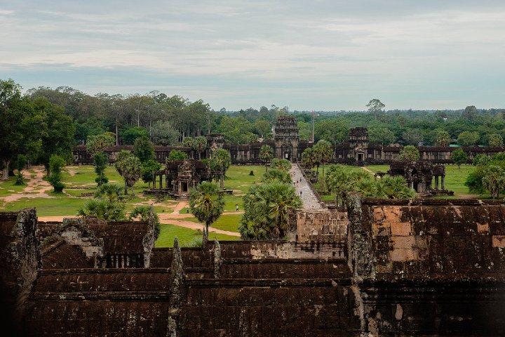 En esta fotografia se puede apreciar las dimensiones de este gran templo. Foto theminjukim