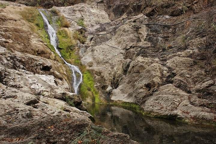 cascadas de vado hondo