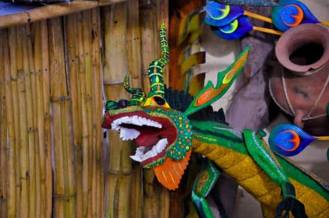iguana alebrije foto Eduardo Robles Pacheco