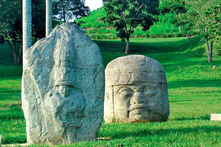 Museo de la Venta en Tabasco FOTO: INAH