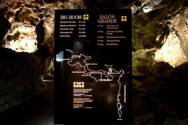 mapa de cavernas
