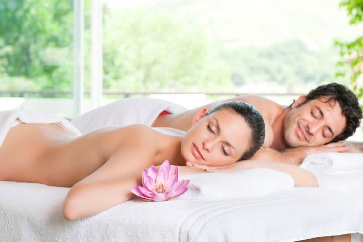 masaje aromatico en pareja