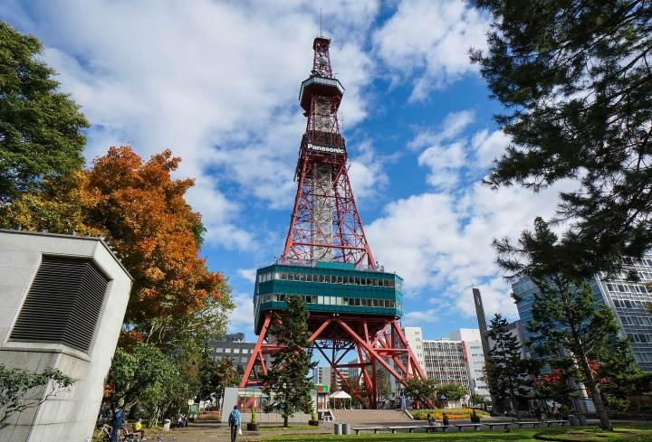 Torre de Televisión de Sapporo FOTO:a4JP