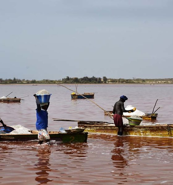 Tour por Senegal, Lago rosa. Foto. luismixbp