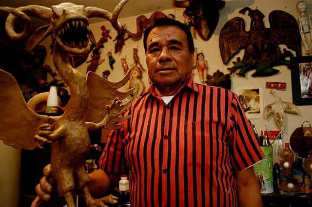 taller de alebrijes foto Angel Morales Rizo