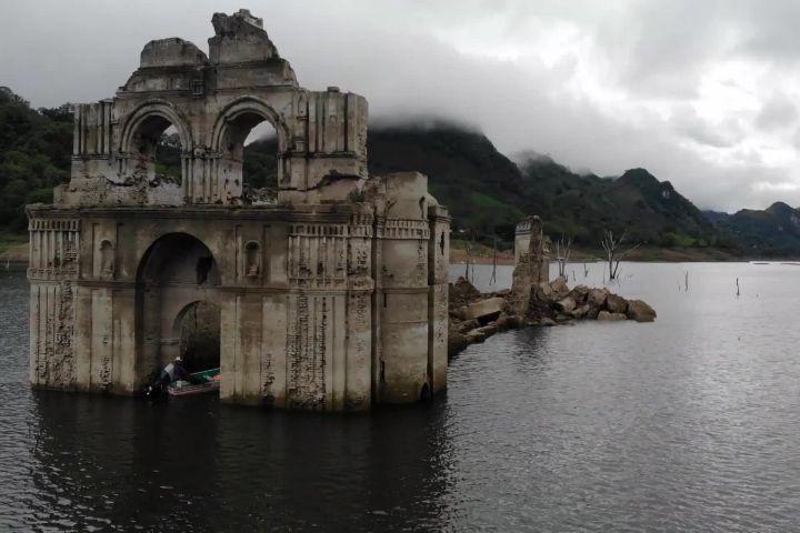 Ruptly TV Foto: Ruinas de la hacienda San Juan